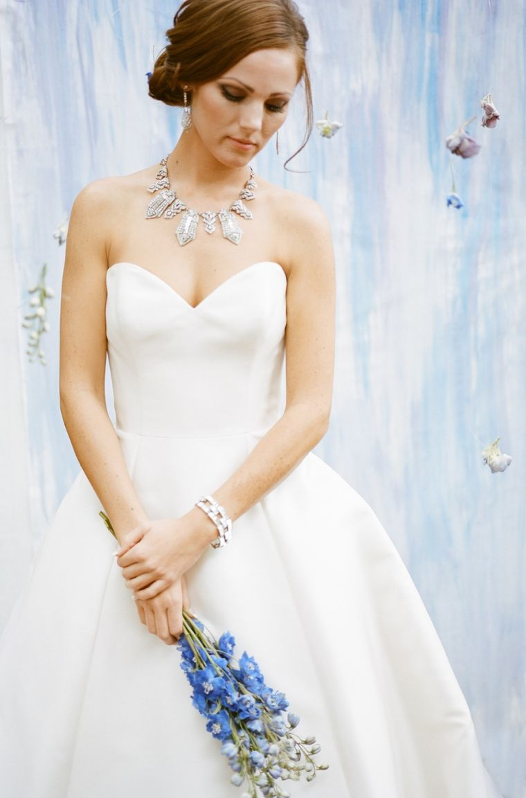 How To Choose Your Wedding Day Jewelry Dress Necklace Bridal