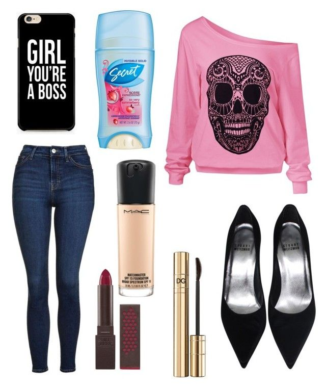 """Untitled #9822"" by ohnadine on Polyvore featuring Topshop, Dolce&Gabbana, Burt's Bees and MAC Cosmetics"