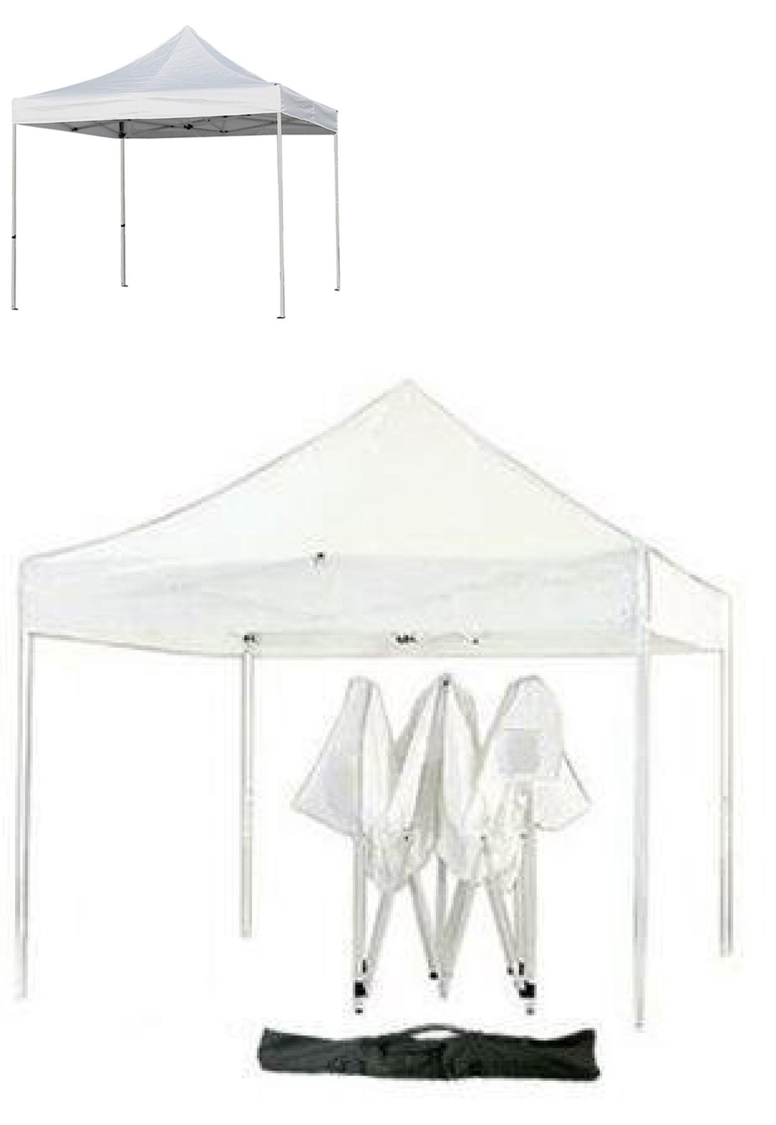 Awnings And Canopies 180992 Ez Pop Up Canopy Tent 10x10 Expandable Event Party Shade White 126 Buy It Now On Pop Up Canopy Tent Instant Canopy Canopy Tent