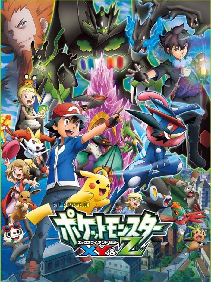 Pokemon XY&Z Anime, Pokemon pictures