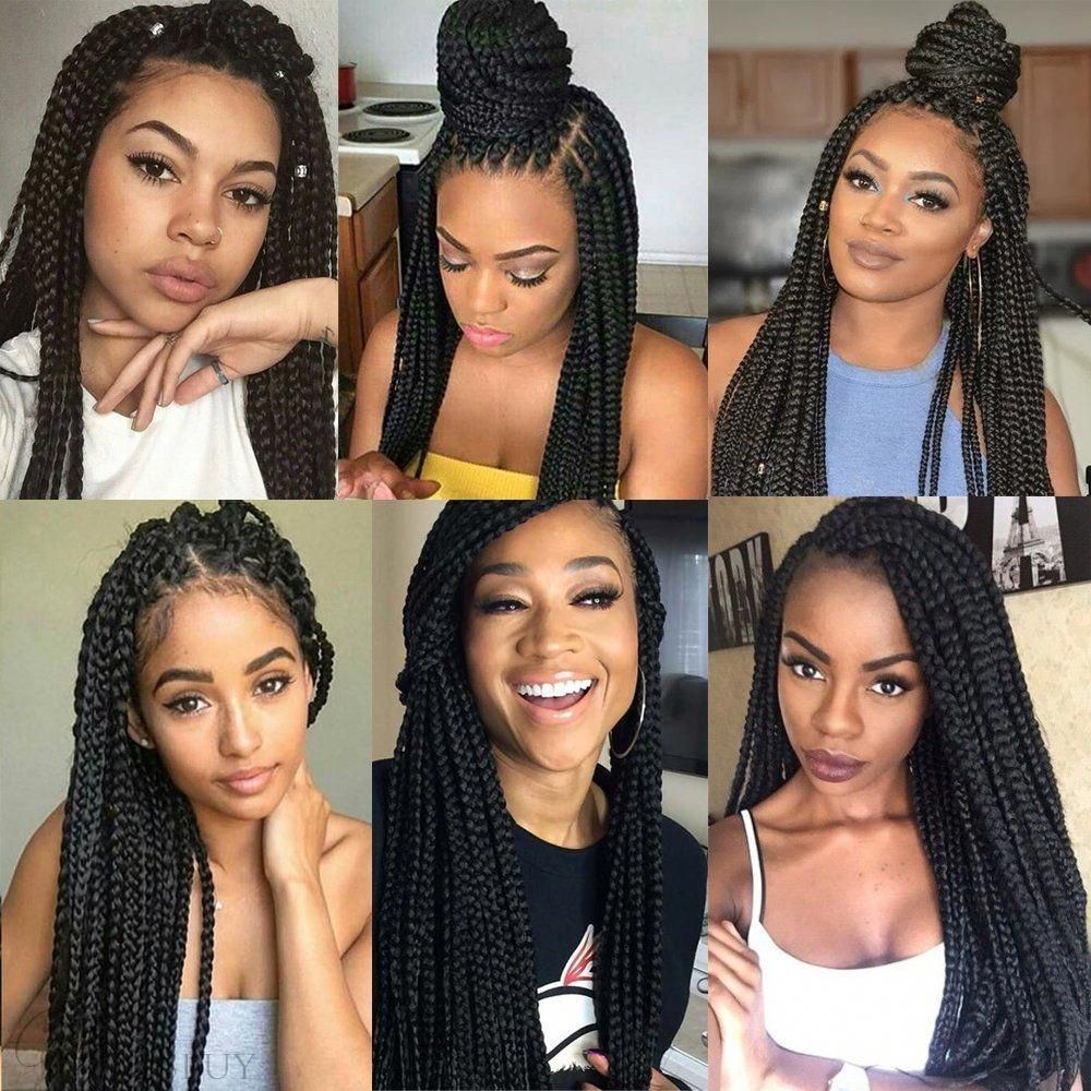 Photo of Afro Natural Black Twist Braid Curly Crochet Hair For Black …