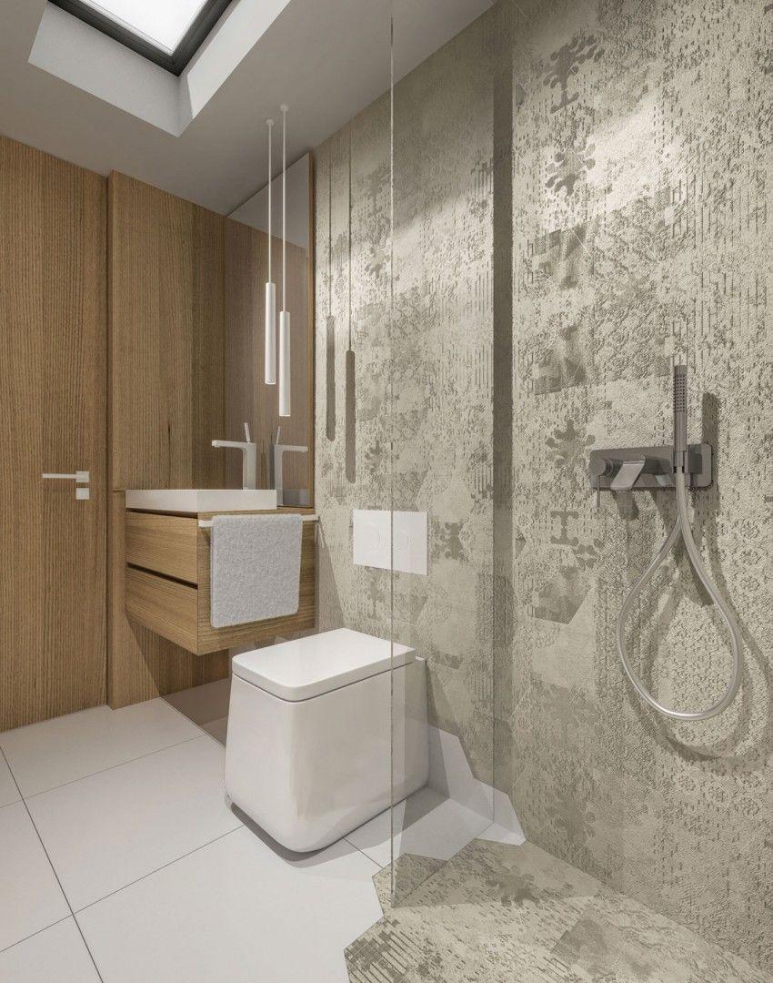 Small House 46 M2 By KKDESIGN (20) Holz Ideen, Wandverkleidung Holz, Fliesen