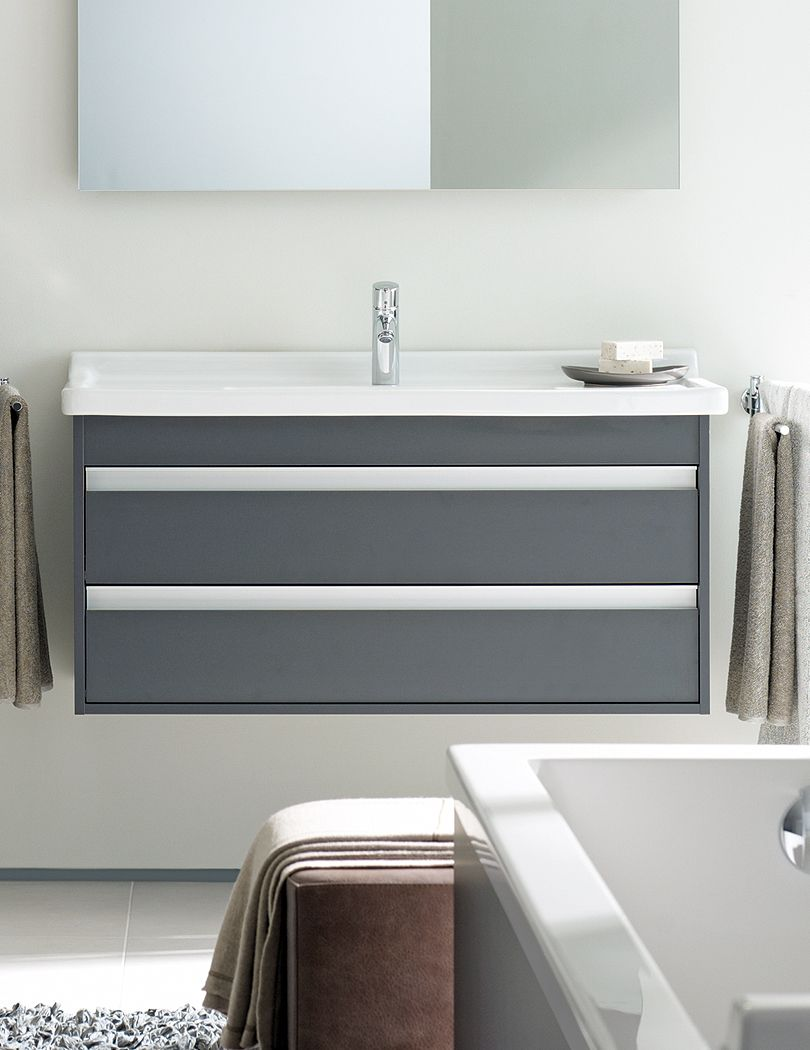 Web Image Gallery Duravit Ketho mm Vanity Unit With Drawer And mm Basin Comes in white u