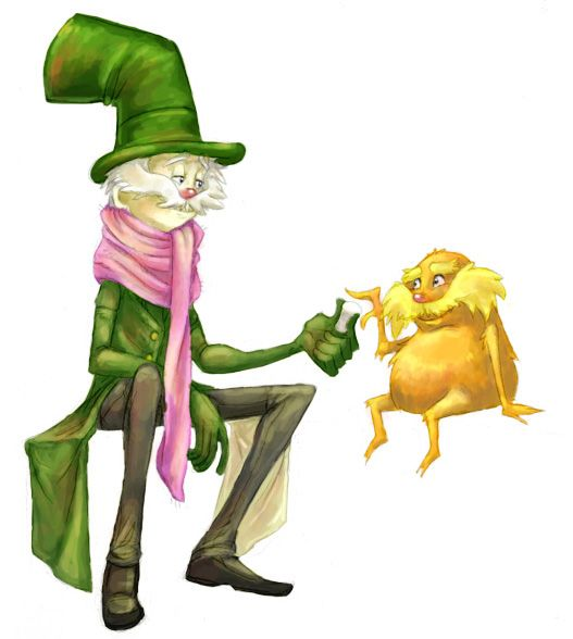 Old Once Ler And The Lorax