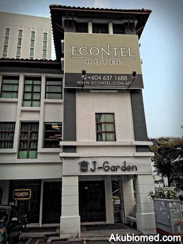 Bermalam Di EContel Hotel Queensbay Pulau Penang