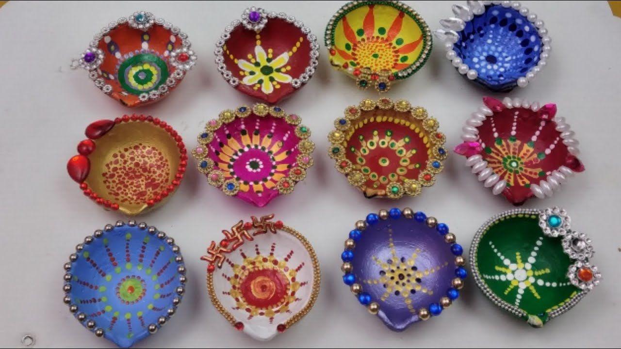 Diya Decoration Ideas For Diwali Beautiful Diwali Decorations Diy
