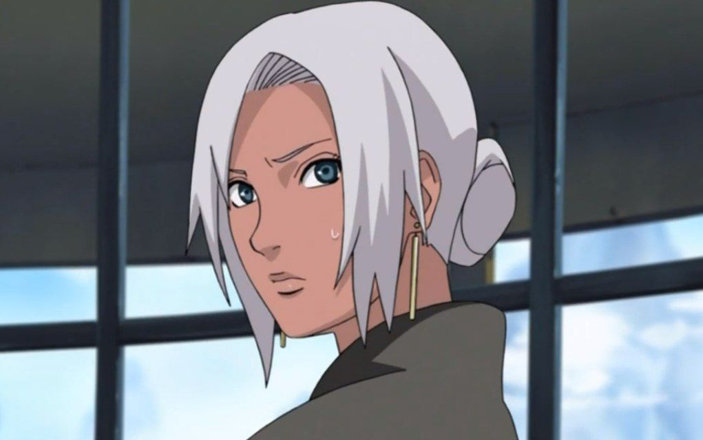 Naruto Black Anime Characters White Hair Dark Skin Black Characters