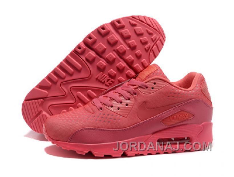 Nike Sportswear Air Max 90 EM Femme Baskets Tout Rose c rail