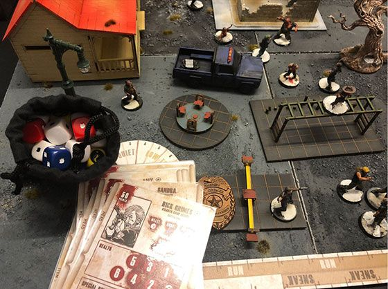 'The Walking Dead: All-Out War' Board Game Review - IMDb