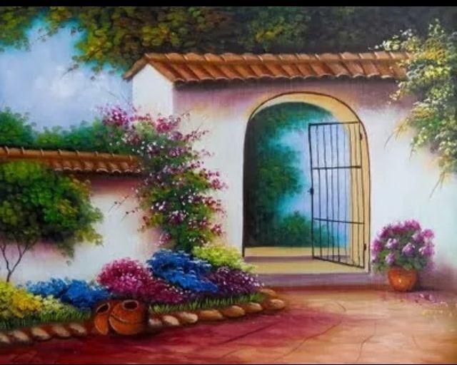 Gabriel Nieto Colombian Artist Mexican Art Painting Cactus Painting Art
