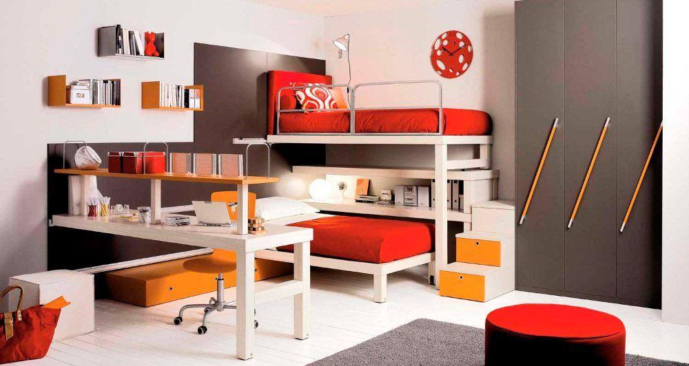 Literas modulares para habitaciones pequeñas   dormitorio gonzalo ...