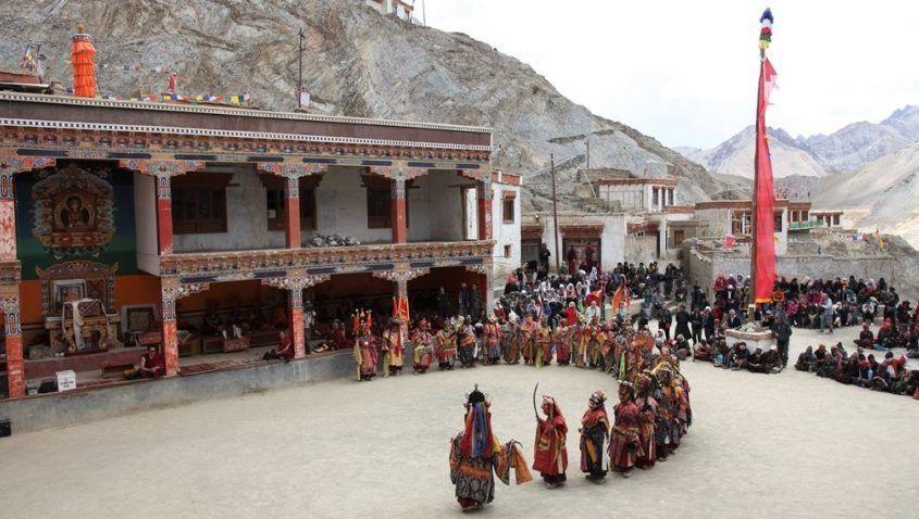 Viaggio in Ladakh: Cham, danze mistiche collettive