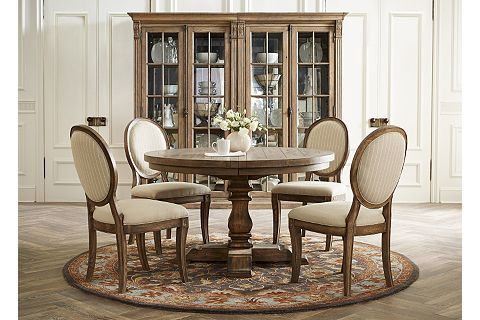 Avondale Round Dining Table Restoration Hardware Dining Room