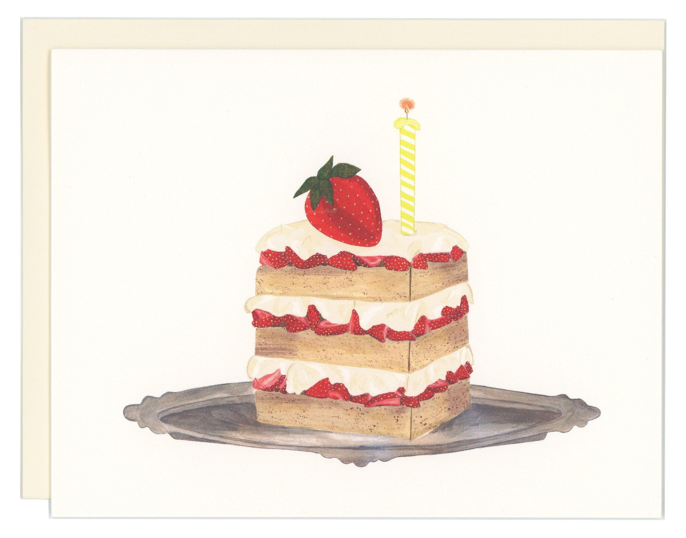 Strawberry Shortcake Birthday By Goodpostage On Etsy Cake Drawing Birthday Cake Drawing Strawberry Shortcake Birthday