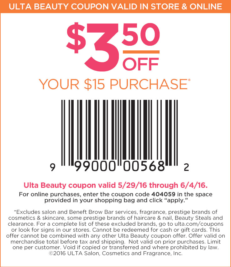 Pinned may 30th 350 off 10 at ulta beauty or online via promo pinned may 30th 350 off 10 at ulta beauty or online via promo code fandeluxe Image collections