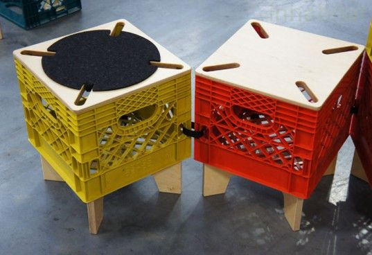 Awesome Milk Crate Furniture, Upcycled Furniture, Milk Crate Storage, Milk Crate  Seats, Milkcrate