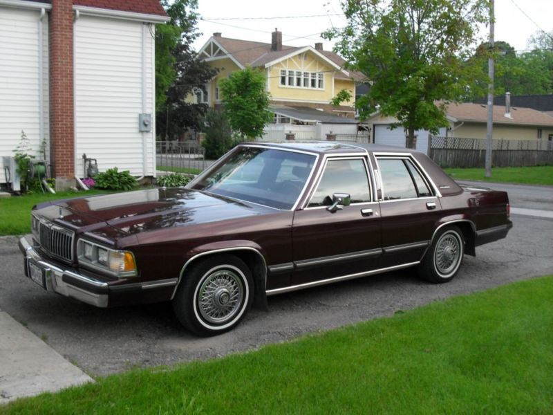 1991 Mercury Grand Marquis  1990s Cars  Pinterest  Marquis and