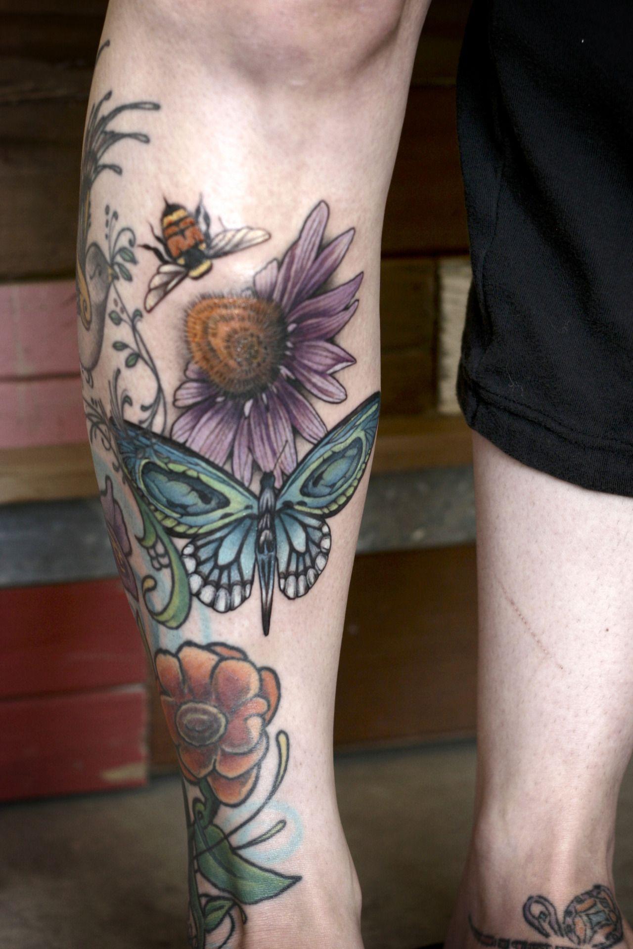 Wonderlandtattoospdx Tattoos Wildflower Tattoo Body Art Tattoos