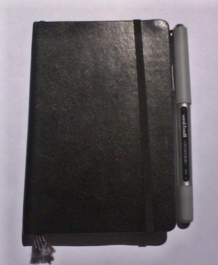 Diy Back To School : DIY Moleskine Pen Clip Mod
