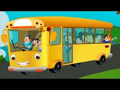 As Rodas Do Onibus Wheels On The Bus Youtube Rimas Infantis