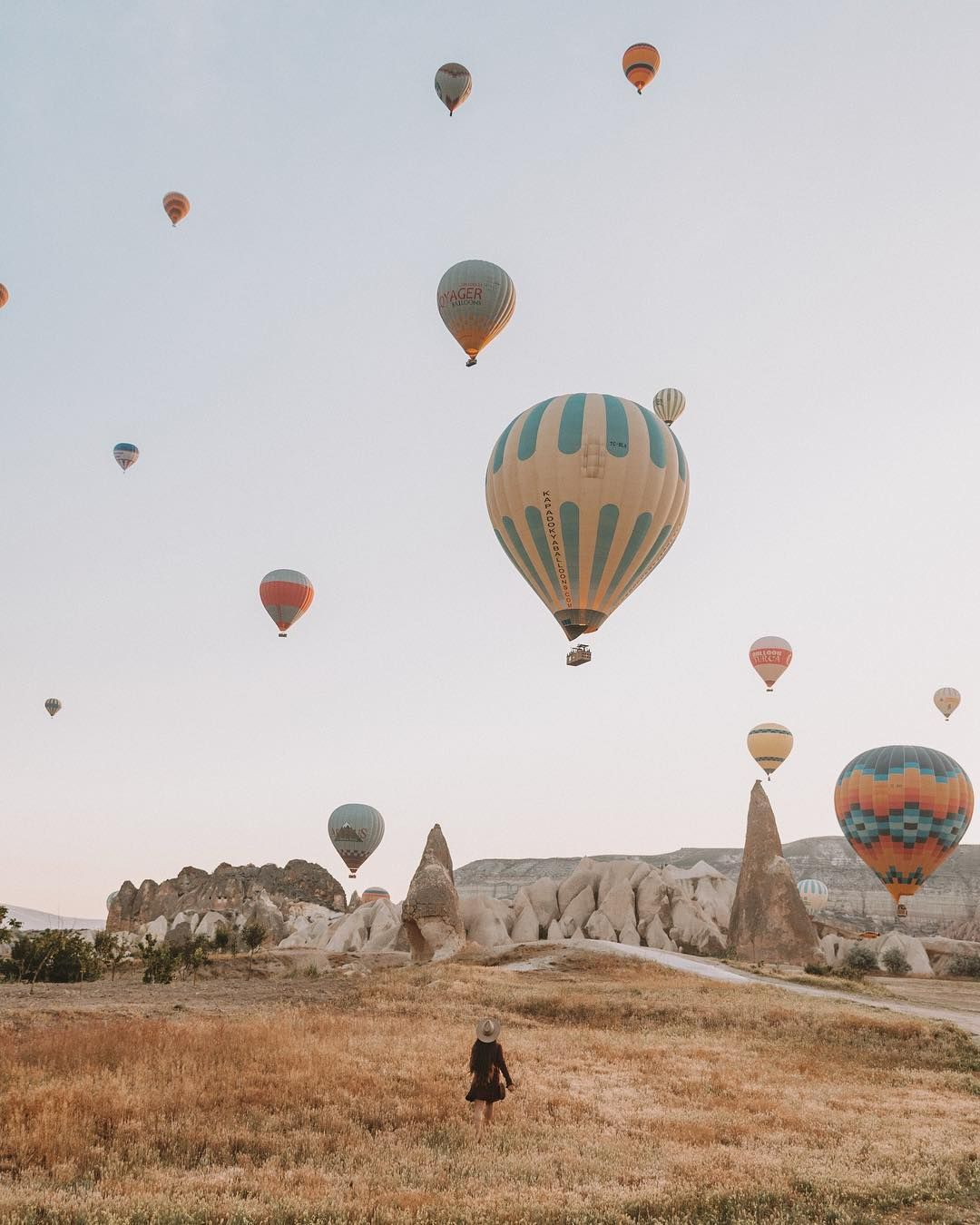 Spent the past five days in Cappadocia, waking up at 4 am