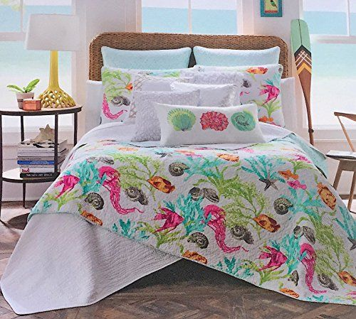 41483d1a62dcab Discover the best starfish bedding you can buy for your beach home. We have  starfish quilts