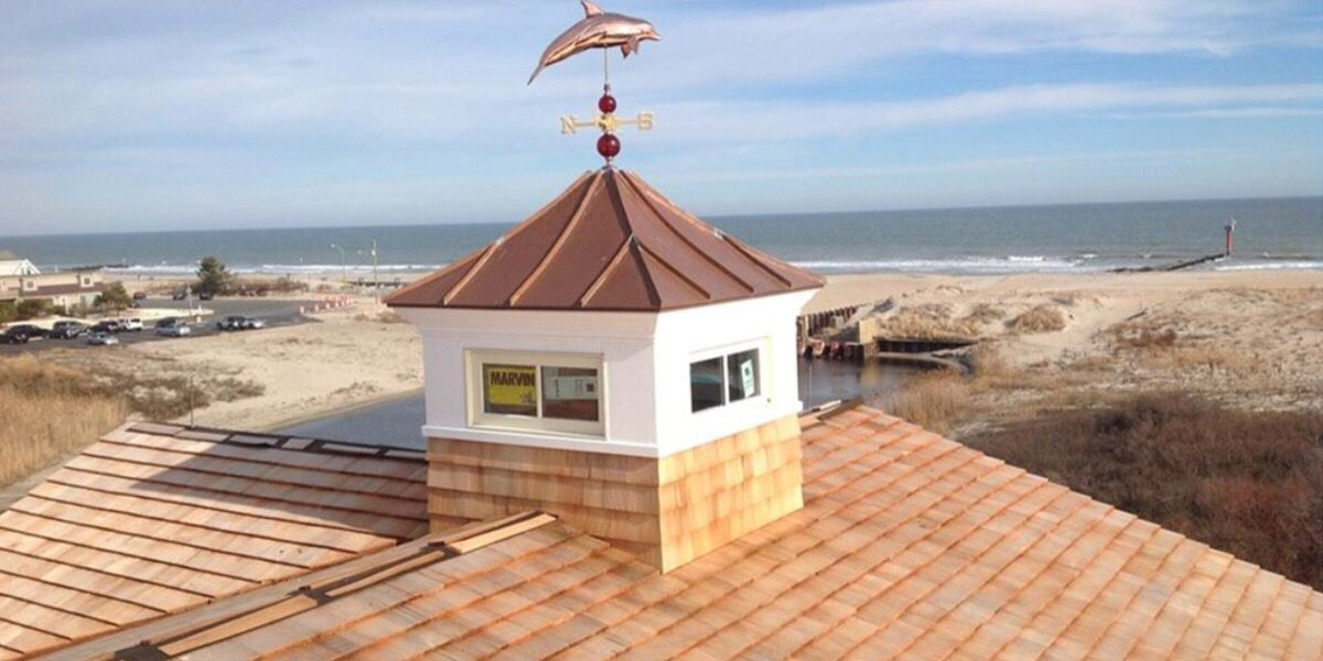 Coppola For The Barn House Roof Design Copper Roof Cupolas