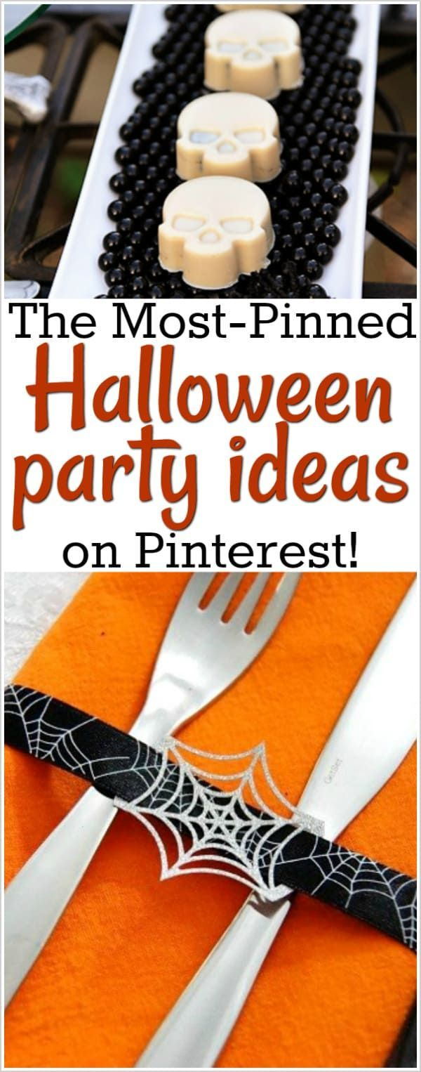 Halloween Party Ideas All the Best Ideas on Pinterest Holiday