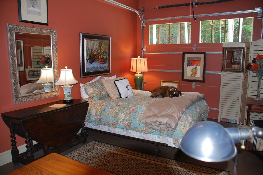 Cute Converted Garage. Remodel bedroom, Garage bedroom