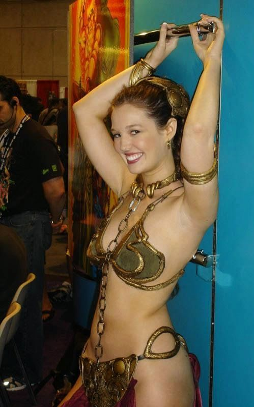 Slave leia christy marie boobs — pic 6