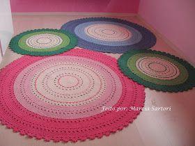 Round Crochet Rugs