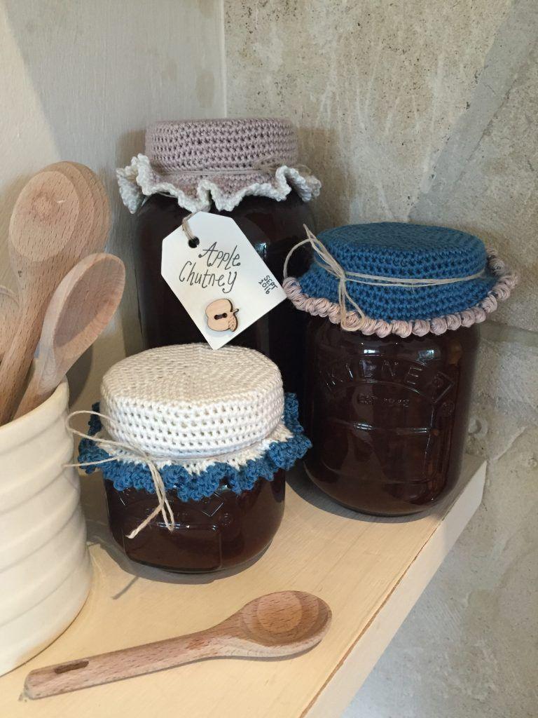 Crochet Jam Jar Covers Free Tutorial Crochet Jar Lid Cover Free