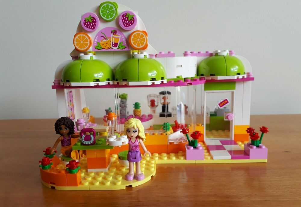 Lego Friends Heartlake Juice Bar 41035 With Images Lego