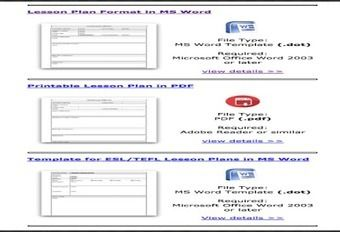 Some Excellent Lesson Plan Templates For Teachers Lesson Plans - 21st century lesson plan template