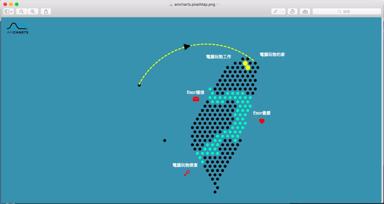 輕鬆自製會說重點的簡報地圖 台灣與世界地圖圖表免費產生器