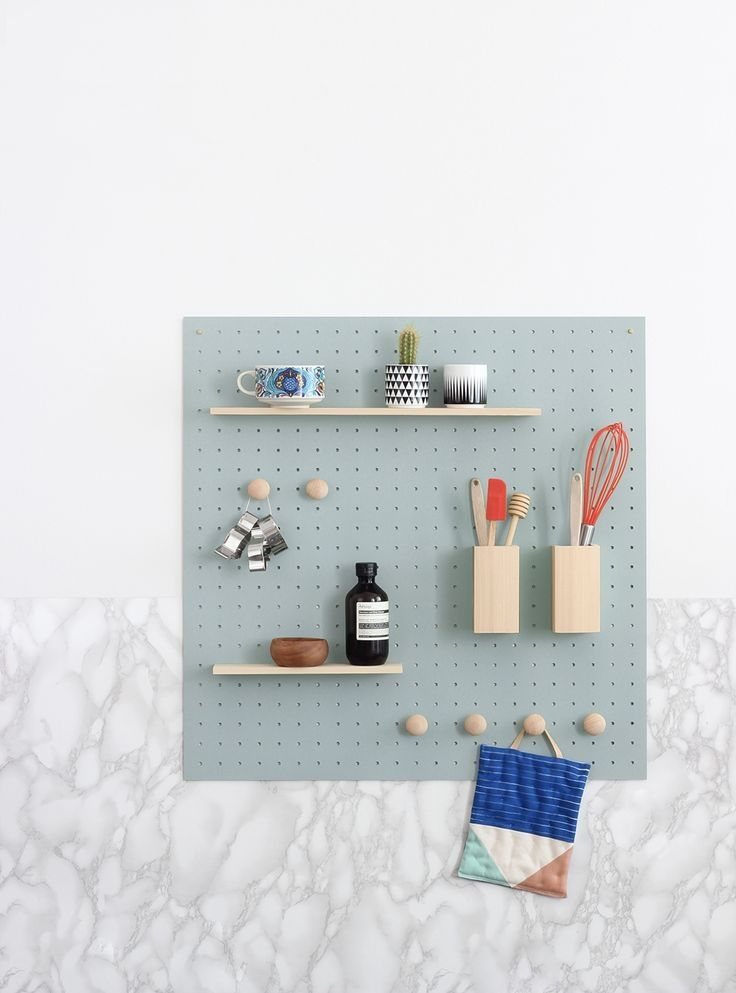 124 Nice Pegboard Implementation Ideas. Kitchen PegboardDiy ...
