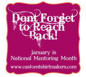 10 Things You Can Do To Make a Difference. National Mentoring Month.