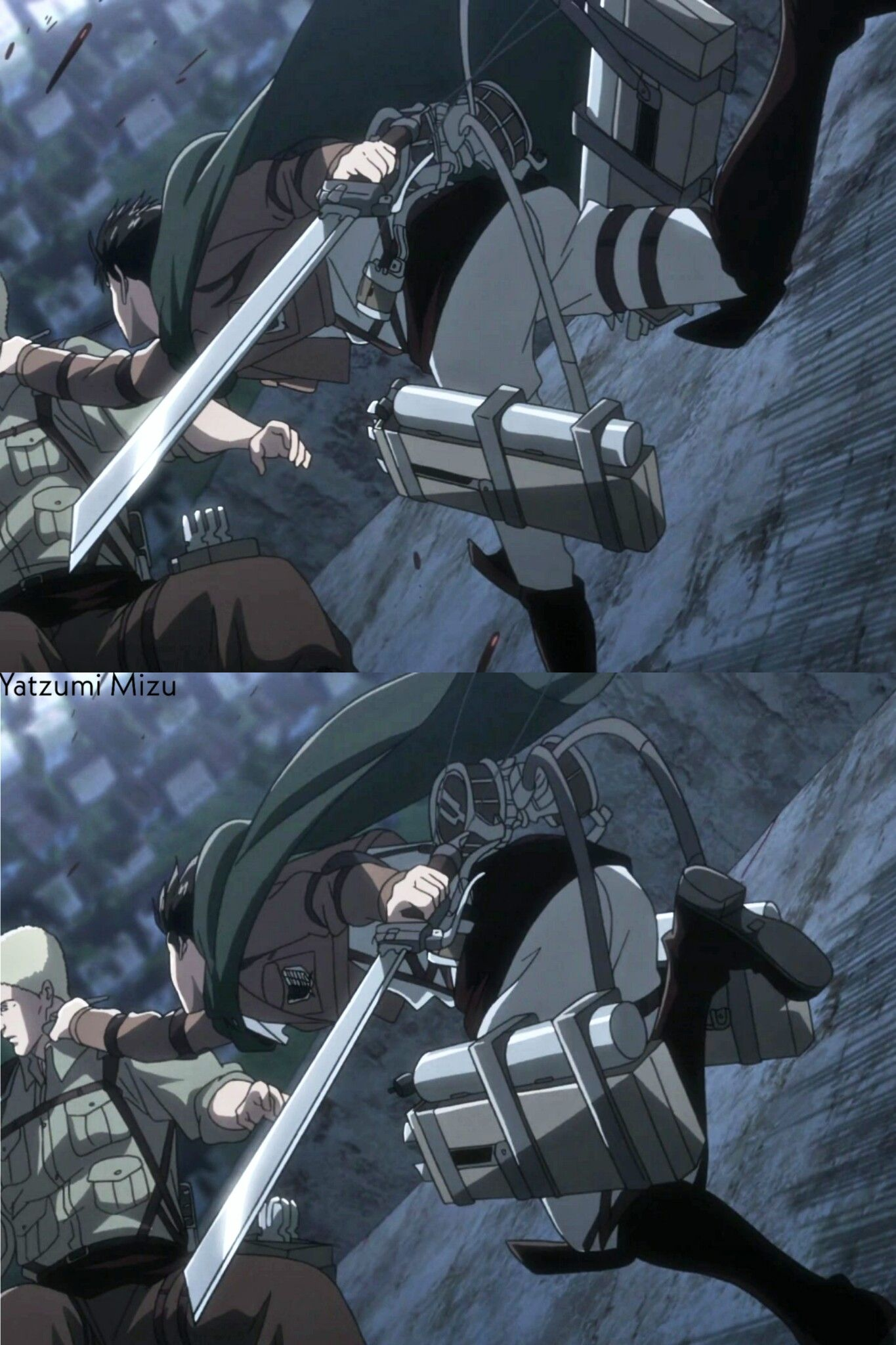 Levi Ackerman AoT season 3 Kyojin, Shingeky