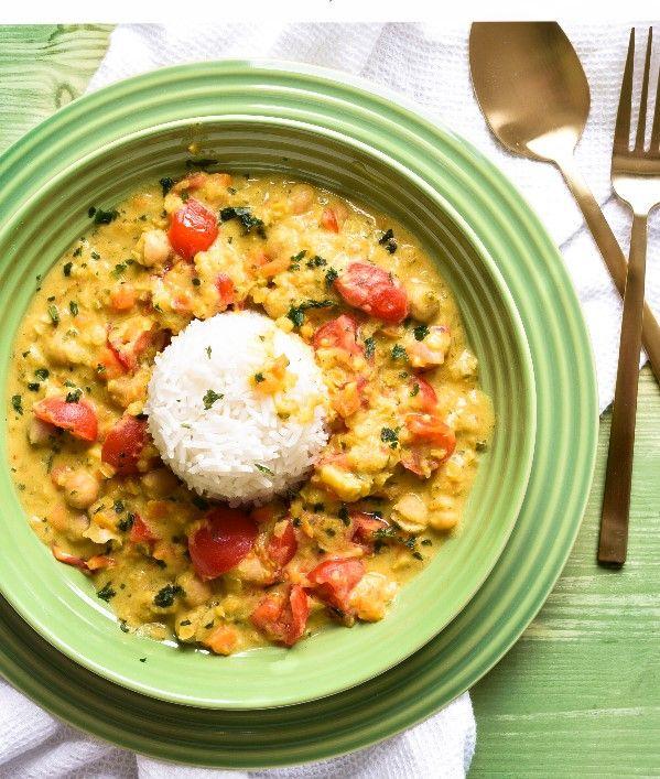 Linsen-Kokos-Curry. Mmmmhhhh…!