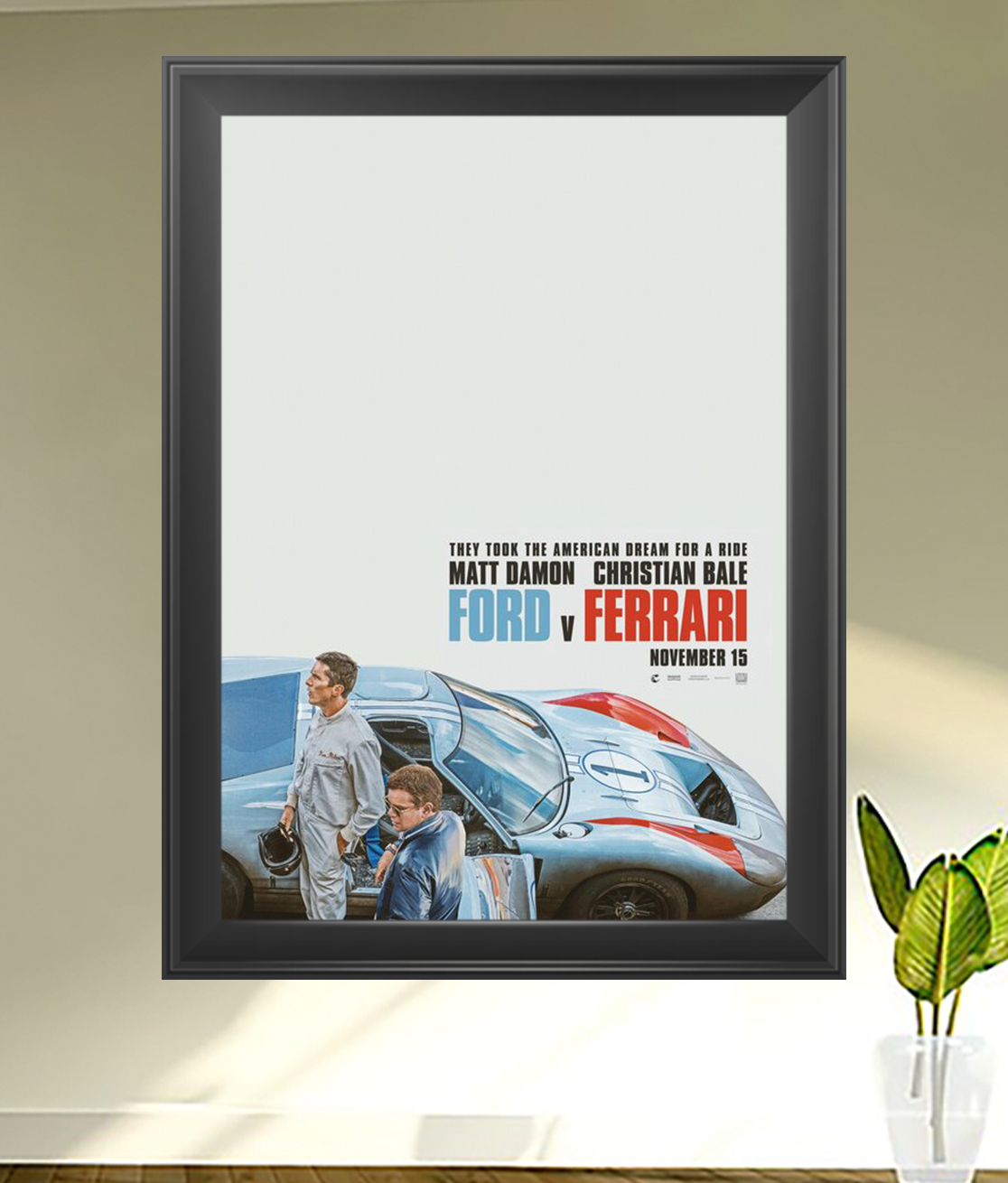 Click To Purchase The Original And Official Movie Poster For Ford V Ferrari