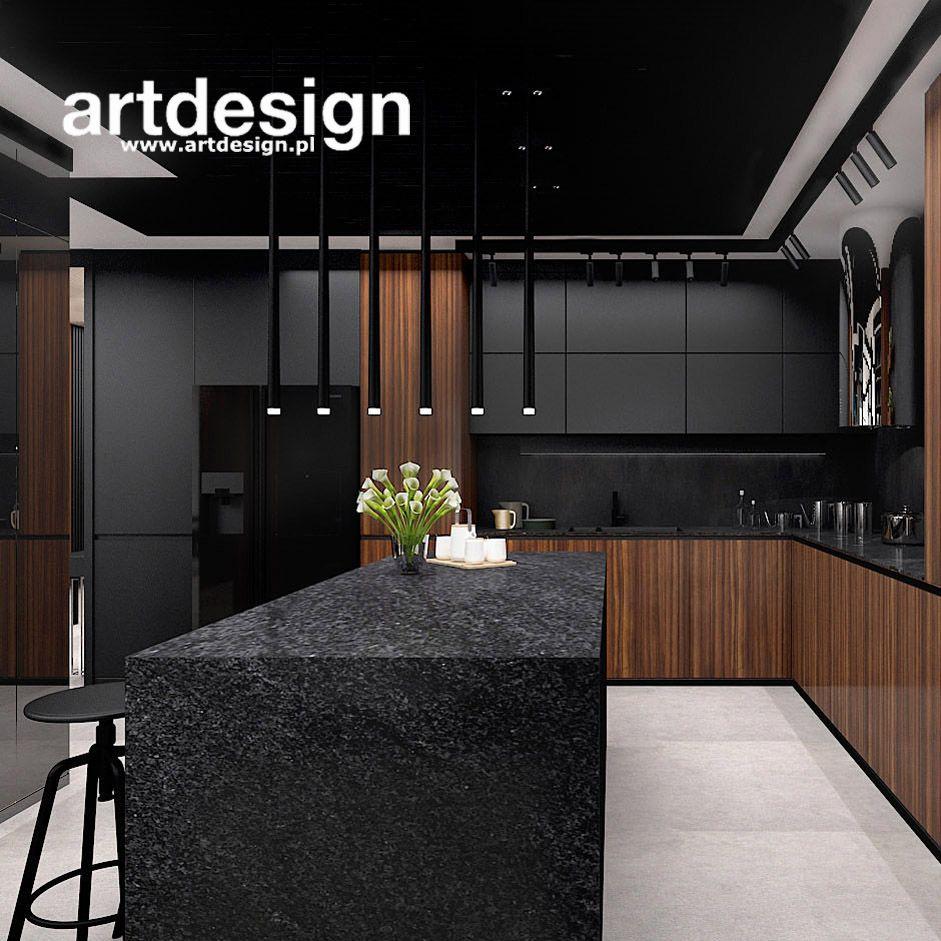 Kuchnia Z Wyspa Trendy 2019 Spirit Of Adventure Wnetrze Apartamentu Kitchen Room Design Kitchen Furniture Design Modern Kitchen Design