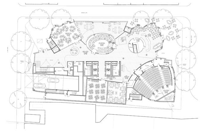 Pictorial Gehry Down Under Site Plan House Design Gehry
