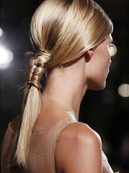 Pony Tales Runway Hair Hair Styles Stylish Hair