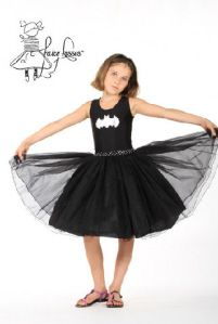 Fairy Kisses - Batgirl Dress: Sizes S (4-5). $63.99