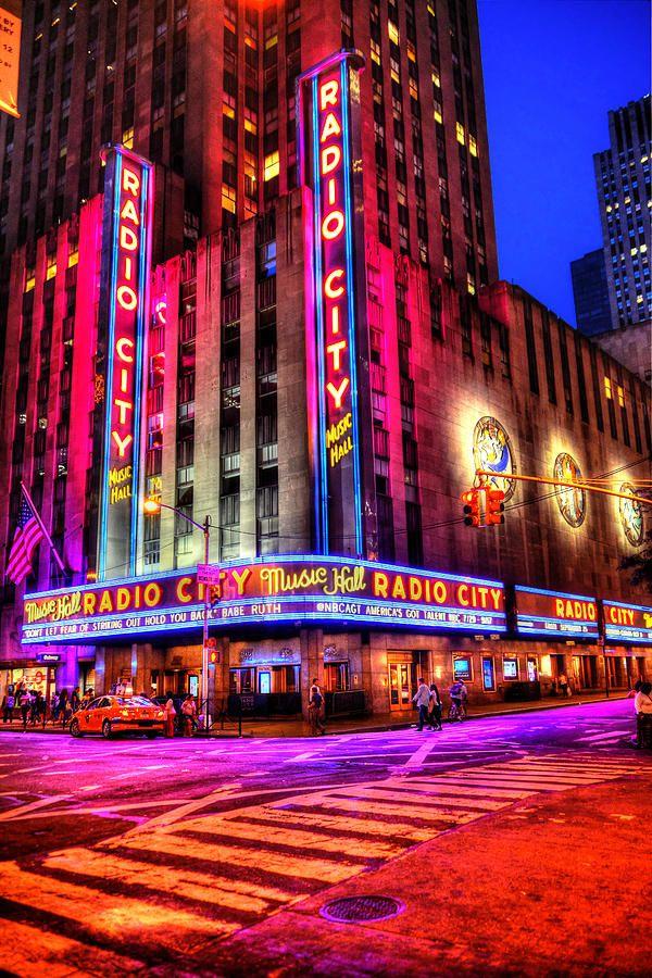 Radio City Music Hall By Randy Aveille Radio City Music Hall City Aesthetic Radio City