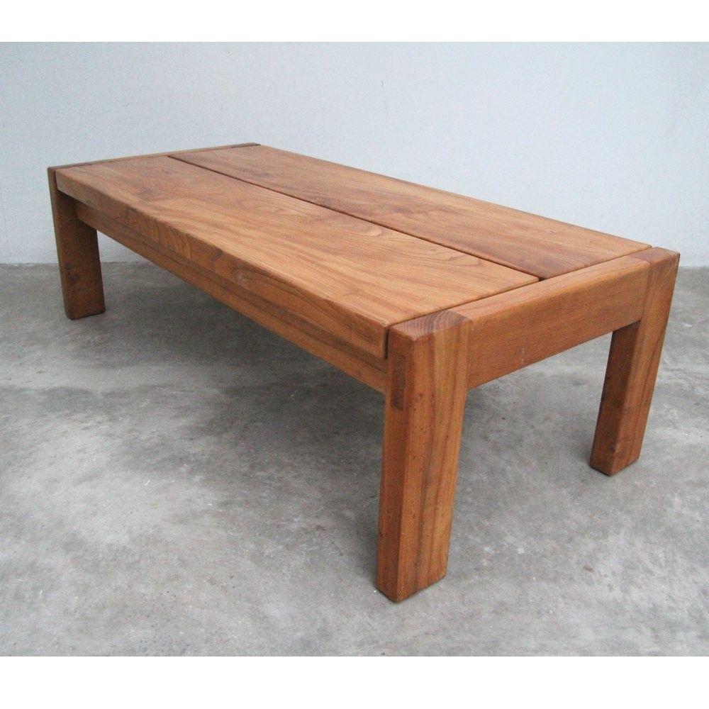 Pierre CHAPO - Table basse en orme. Vers 1950 | Chapo creations ...