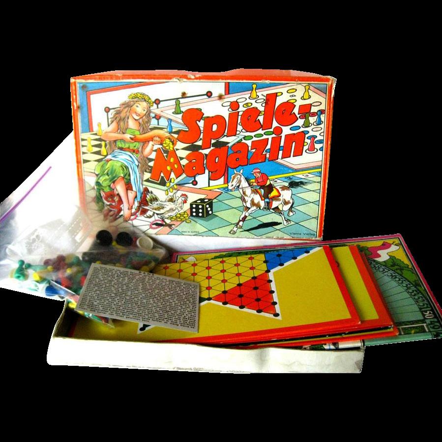 Spiele Magazin Austrian Game Set JSJ Autstria Boxed
