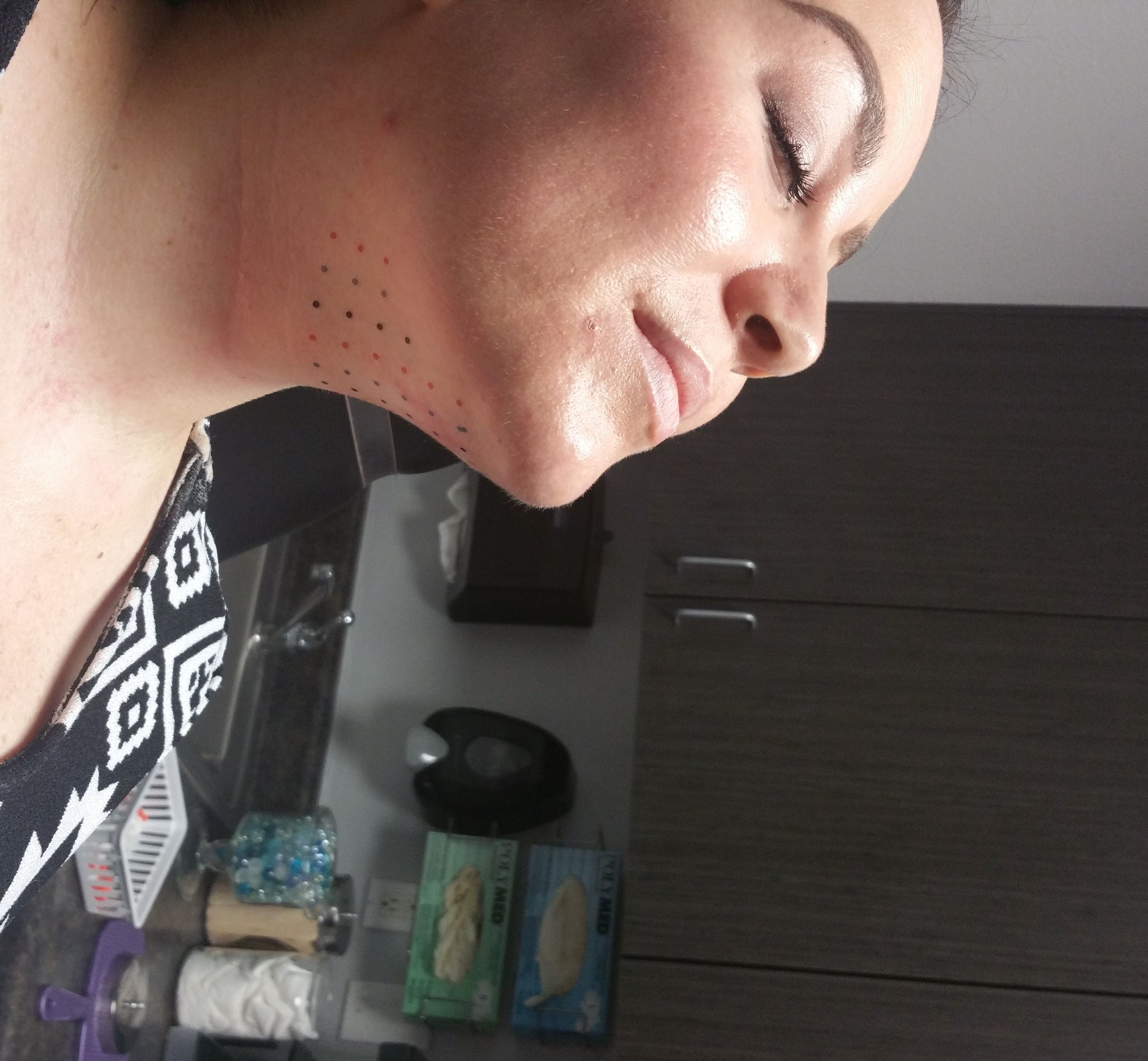 how to get rid of under chin fat fast