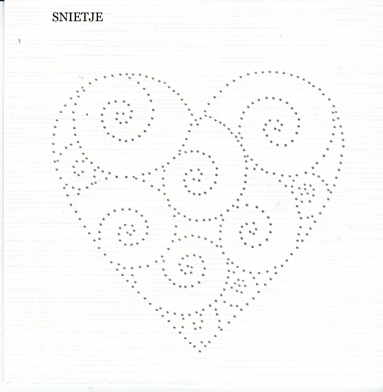 Swirly heart pattern | Card embroidery | Pinterest | Punteado, Coser ...