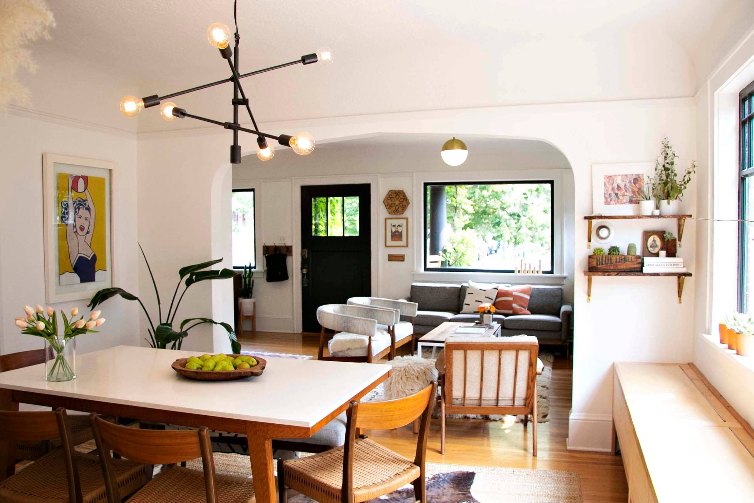 A Small Swedish Bungalow In Portland Is Diyed And Adorable Home Natural Home Decor Home Decor